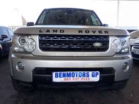 2010 Land Rover Discovery4 3.0 Automatic