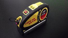 Лазерный уровень с рулеткой 5.5м