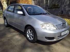 2003  TOYOTA COROLLA 160 GSX MANUAL