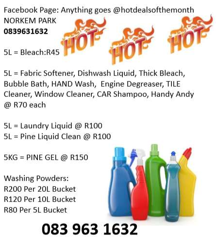 Household detergents 0