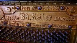 Пианино Ed. Seiler начало хх века для архитектора А.Ф. Гергарда