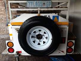 Off Road trailer for sale or to swop for smaller 6 or 7ft trailer