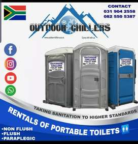 Sunbow rentals sunbow toilet rentals sunbow marquee and Chair hire