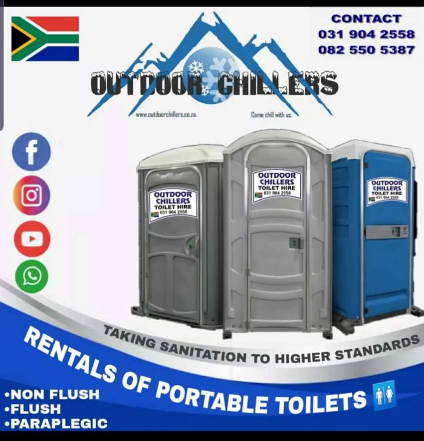 Sunbow rentals sunbow toilet rentals sunbow marquee and Chair hire 0