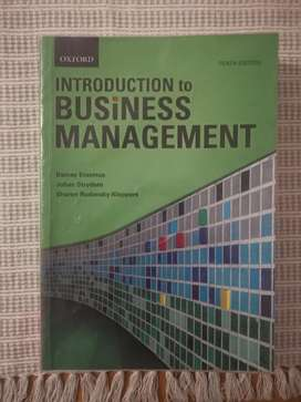 Introduction to Business Management (10th Edition - Oxford)