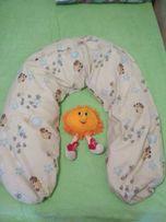Подушка для беременных, кормления, ортопедическая для новорожденных