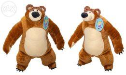 Мягкая игрушка плюшевый мишка маша и медведь.