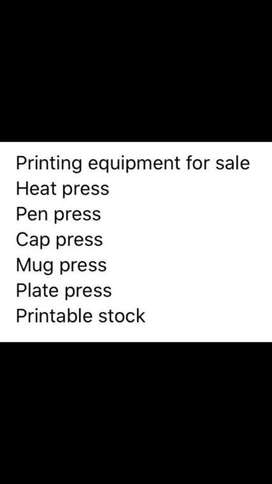 Printable Equipment