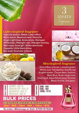 Inspired perfumes