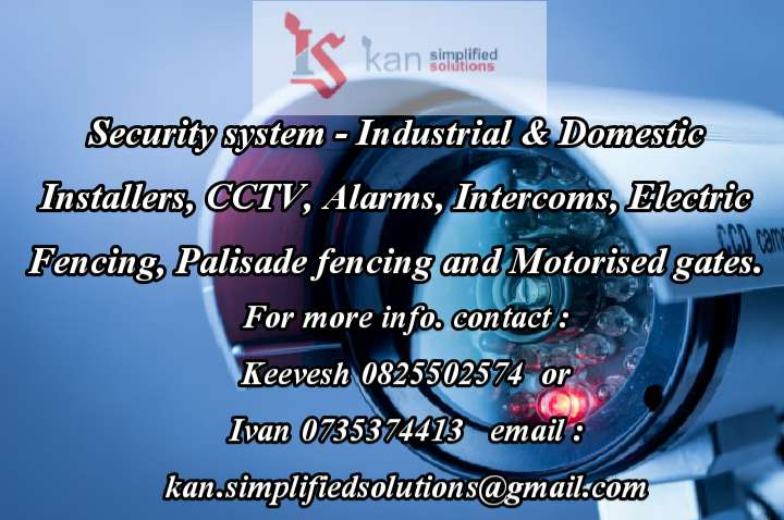 Electric fencing, gate motors, intercoms , cctv 0