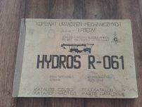 Hydros R-061 dźwig żuraw samochodowy katalog części Star