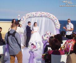 Украшение свадьбы. Свадебный декор. Оформление выездной росписи. Пушка
