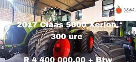 2017 Claas 5000 Xerion