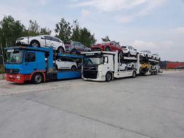 Transport Aut Samochodow z Niemiec Slask Gliwice Katowice Krakow