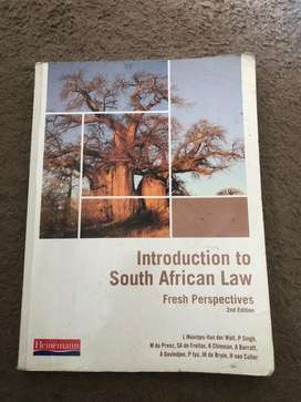 Introduction to South African Law 2nd Edition