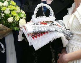 Продам роскошное свадебное платье с шубкой и фатой (+подарок)
