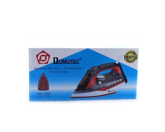 Новый утюг Domotec 2200 Вт паровой / керамическая подошва / праска Харьков - изображение 5