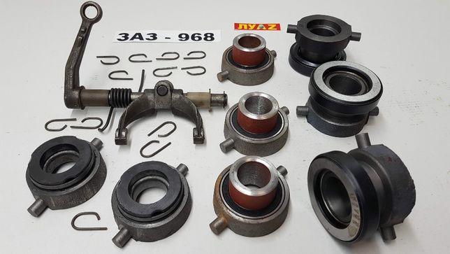Подшипник выжимной ЛУАЗ ЗАЗ 968 заводской графитовый крутящийся Мелитополь - изображение 1