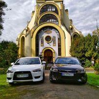 Авто на весілля, весільний кортеж Lancer X