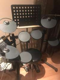 Used, Yamaha DTX400K Electric Drum kit for sale  South Africa