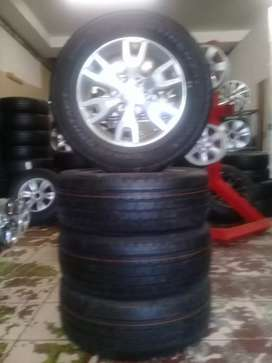 18 INCH FORD RANGER MAGS WITH TYRES NEW 4PCS