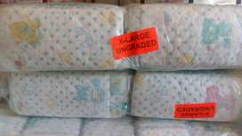 KIDS PAMPERS - DIAPERS  (BULK)  FOR SALE AT GIVE AWAY PRICE