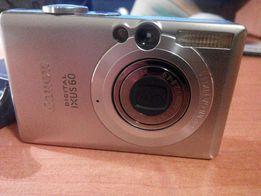 Фотоаппарат Сanon ixus 60 6Мп литиевая плоская батарея