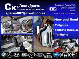 New and used tailgates and boot lids for sale