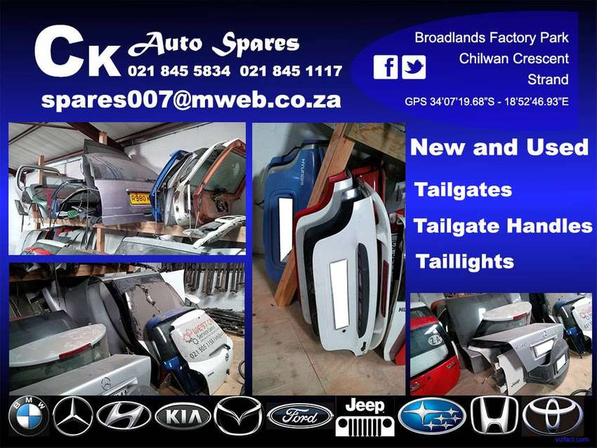 New and used tailgates and boot lids for sale 0