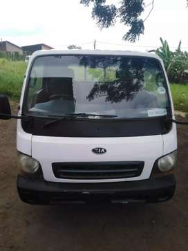White K2700 Kia start and move in very good condition