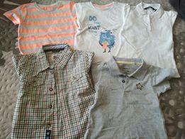 Koszulki bluzeczki r 92 smyk, Lupillu