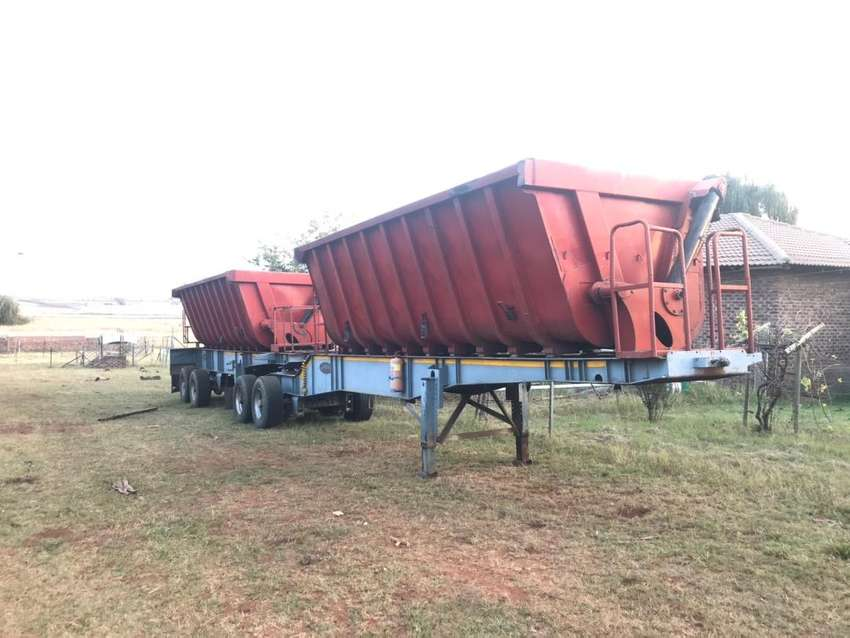 2002 Side tipper for sale 0