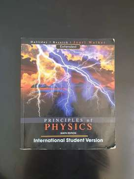 Principles of Physics 9th edition textbook for sale