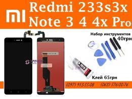 Дисплей модуль Xiaomi redmi note 2 3 4 Helio 4x Snapdragon 5 pro 5a