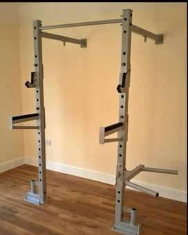 Squat racks with pull up bar heavy duty frames are guaranteed