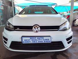 2015 VW Golf 7 R  2.0 Engine Capacity DSG with Automatic Transmission,