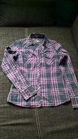 Modna koszula w kratę (rozm. XS)