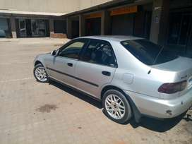 Silver Grey Honda Ballade for sale, 341135km.