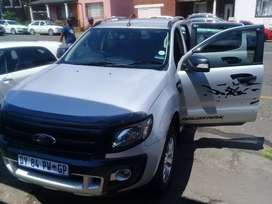 2013 Ford Ranger 3.2D 4×4 Automatic with spare key and reserve camera