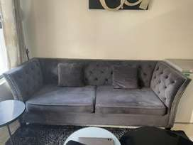 3 seater Luxury couch in mint condition.
