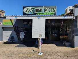 Fully Stocked Surf Shop Ready For Take Over with December looming now'