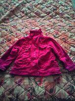 Вельветовая курточка на флисе
