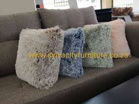 Fluffy Scatter Cushions