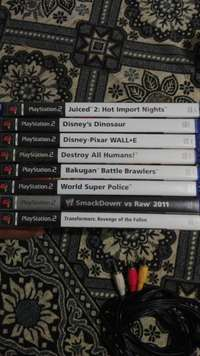 Image of Urgent sale:19 ps2 games with assesories