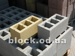 Шлакоблок, камень стеновой или заборный 170х170х360