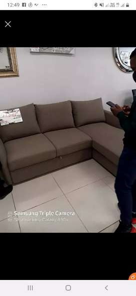 """L shape couch, laptop and 32"""" TV for salr"""