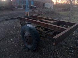 продам прицеп, самосвальный,с цилиндром ГАЗ 53.