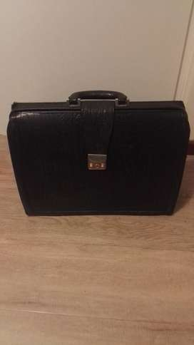 Buffalo Leather Business Briefcase