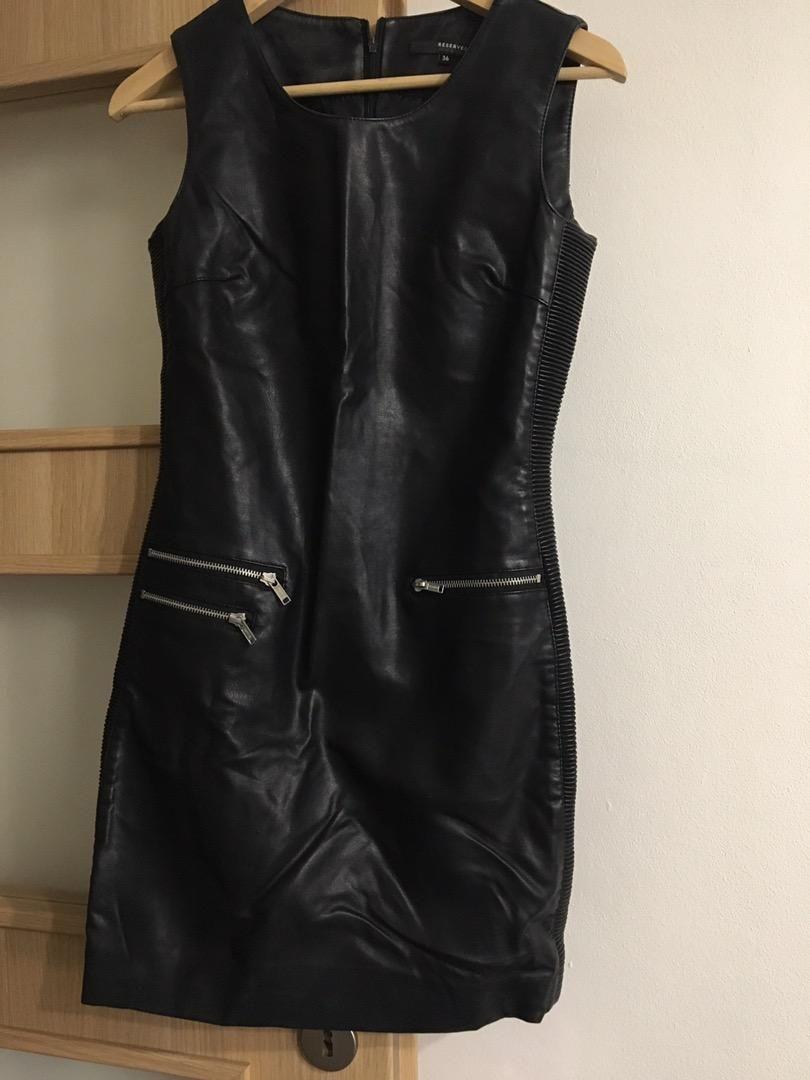 Nové Kožené šaty Reserved 36 0