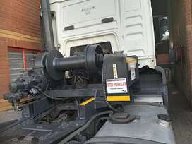 TRUCK HYDRAULIC WINCH INSTALLATION AND ROLLER MANUFACTURING